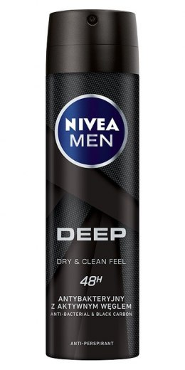 Nivea Dezodorant DEEP spray męski 150ml