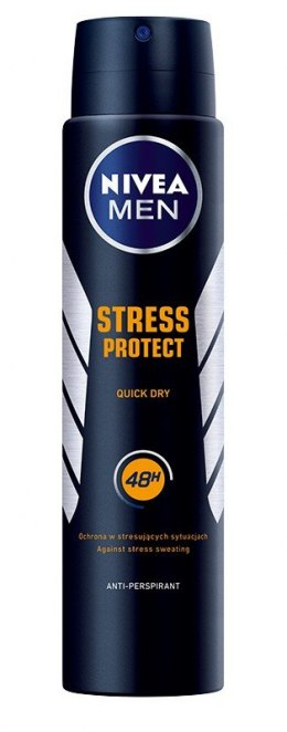 Nivea Dezodorant STRESS PROTECT spray męski 250ml