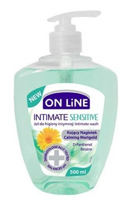 On Line Intimate Żel do higieny intymnej Sensitive kojący nagietek 500ml new