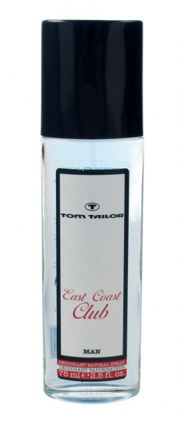 Tom Tailor East Coast Club Man Dezodorant w szkle 75ml