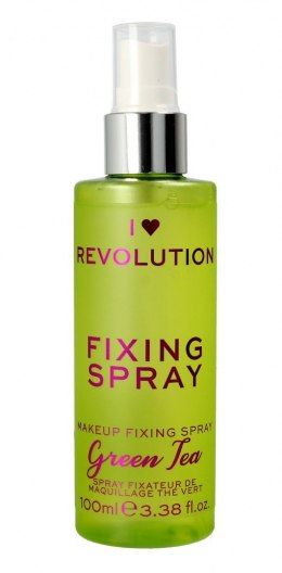 I Heart Revolution Fixing Spray Mgiełka utrwalająca makijaż Green Tea 100ml