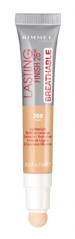 Rimmel Lasting Fihish 25HR Breathable Korektor nr 200 Light 7ml