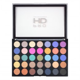 Makeup Revolution Pro HD Palette Amplified 35 Zestaw cieni do powiek Defiant 1szt