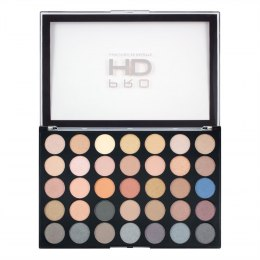 Makeup Revolution Pro HD Palette Amplified 35 Zestaw cieni do powiek Smoulder 1szt