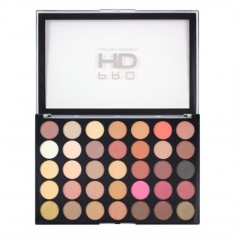 Makeup Revolution Pro HD Palette Amplified 35 Zestaw cieni do powiek Socialite 1szt