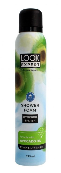 Look Expert Shower Foam Pianka do mycia ciała Avocado Splash 225ml