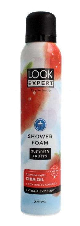 Look Expert Shower Foam Pianka do mycia ciała Summer Fruits 225ml