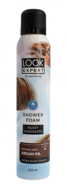 Look Expert Shower Foam Pianka do mycia ciała Sweet Chocolate 225ml