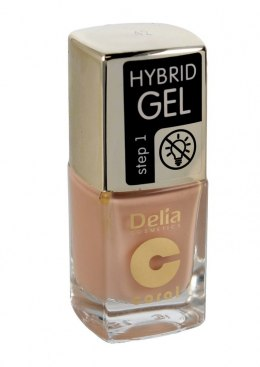 Delia Cosmetics Coral Hybrid Gel Emalia do paznokci nr 42 11ml