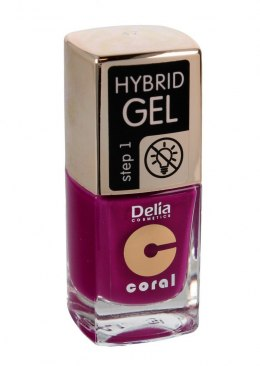 Delia Cosmetics Coral Hybrid Gel Emalia do paznokci nr 47 11ml