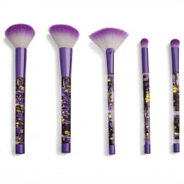 I Heart Revolution Zestaw pędzli do makijażu Fortune Seeker Purple Glitter Brush Set
