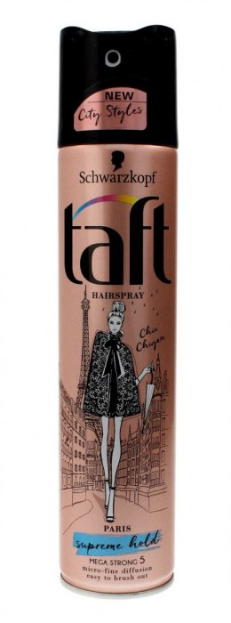 Taft City Styles Lakier do włosów Paris Supreme Hold 250ml