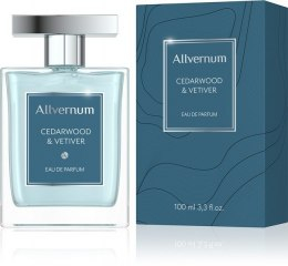 Allvernum Men Woda pefumowana Cedarwood & Vetiver 100ml