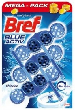 BREF COLOR AKTIV 3x50G CHLORINE ZAWIESZKA DO WC