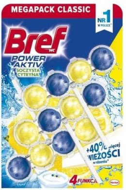 Bref Power Aktiv LEMON 3x50g zawieszka WC