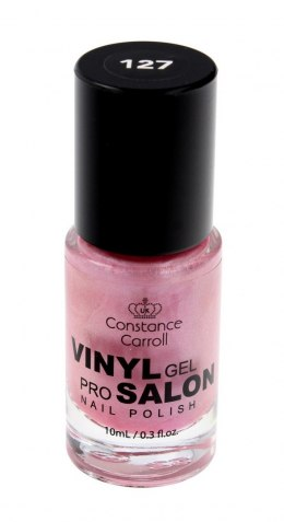 Constance Carroll Lakier do paznokci z winylem nr 127 Pearly Pink 10ml
