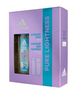 Adidas Zestaw prezentowy Pure Lightness (deo spray 150ml+deo atomizer 75ml)