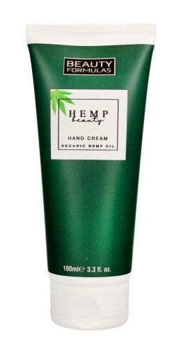 Beauty Formulas Hemp Beauty Krem do rąk nawilżająco-odżywczy 100ml