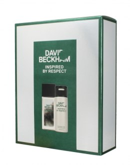 David Beckham Zestaw prezentowy Inspired By Respect (deo spray 150ml+deo atomizer 75ml)