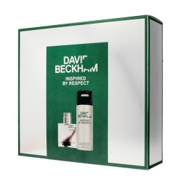David Beckham Zestaw prezentowy Inspired By Respect (deo spray 150ml+woda toalet.40ml)