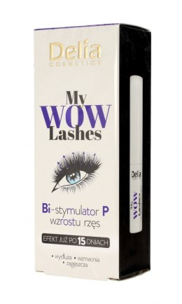 Delia Cosmetics My Wow Lashes Odżywka do rzęs z bimatoprostem 3ml