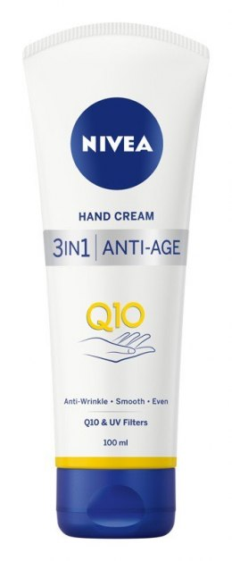 NIVEA Hand Cream Krem do rąk 3in1 Ant-Age Q10 100ml