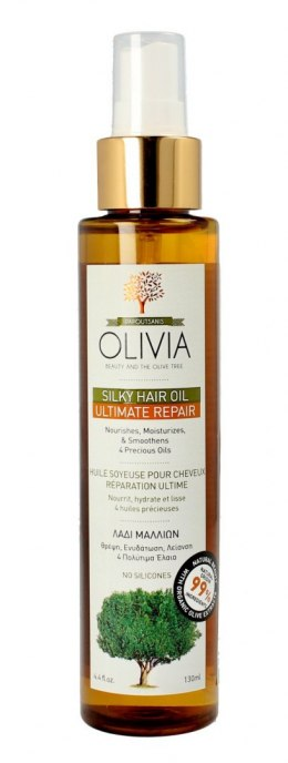 Olivia Beauty & The Olive Tree Olejek do włosów odbudowujący Ultimate Repair 130ml