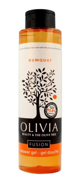 Olivia Beauty & The Olive Tree Żel pod prysznic kojący - Kumkwat 300ml