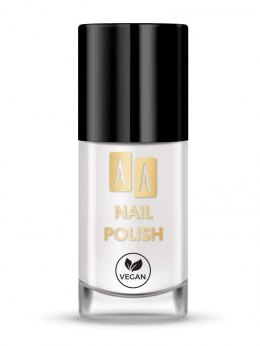 AA Nail Polish Lakier do paznokci nr 01 White Bean 8ml