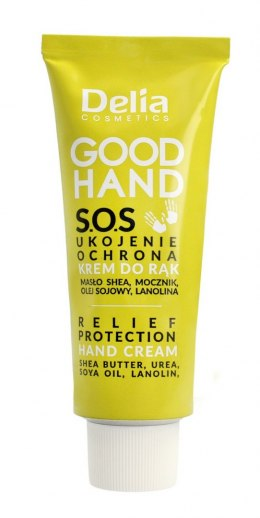 Delia Cosmetics Good Hand S.O.S Krem do rąk Ukojenie i Ochrona 75ml