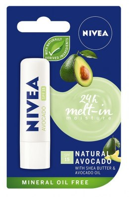 Nivea Lip Care Pomadka ochronna NATURAL AVOCADO 4.8g