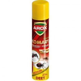 AROX Spray Deet Medium na komary,kleszcze i meszki 90ml