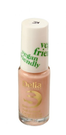 Delia Cosmetics Vegan Friendly Emalia do paznokci Size S nr 204 Honey Pink 5ml