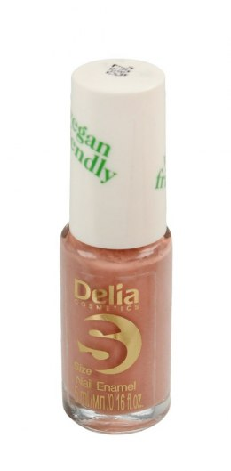 Delia Cosmetics Vegan Friendly Emalia do paznokci Size S nr 208 Tea Rose 5ml
