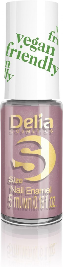 Delia Cosmetics Vegan Friendly Emalia do paznokci Size S nr 210 Dusty Rose 5ml