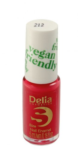 Delia Cosmetics Vegan Friendly Emalia do paznokci Size S nr 212 Coraline 5ml