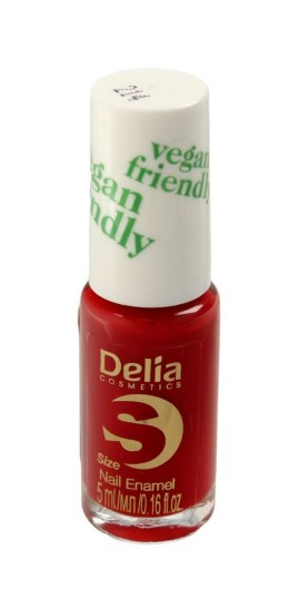 Delia Cosmetics Vegan Friendly Emalia do paznokci Size S nr 214 Lady in Red 5ml