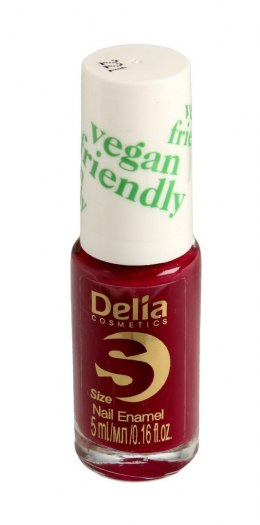 Delia Cosmetics Vegan Friendly Emalia do paznokci Size S nr 221 Sweet Plum 5ml