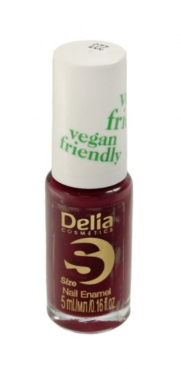 Delia Cosmetics Vegan Friendly Emalia do paznokci Size S nr 223 Secret Kiss 5ml