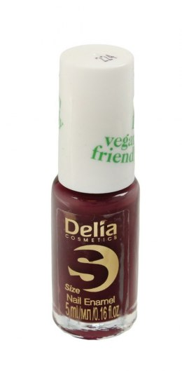 Delia Cosmetics Vegan Friendly Emalia do paznokci Size S nr 224 Get Lucky 5ml