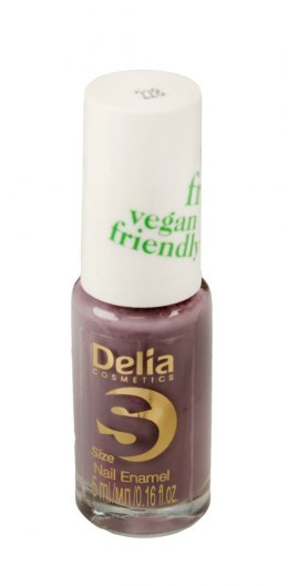 Delia Cosmetics Vegan Friendly Emalia do paznokci Size S nr 228 Psycho 5ml