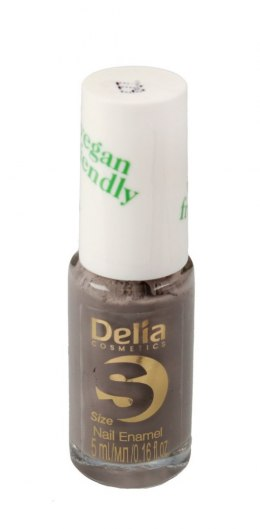 Delia Cosmetics Vegan Friendly Emalia do paznokci Size S nr 229 MR Grey 5ml
