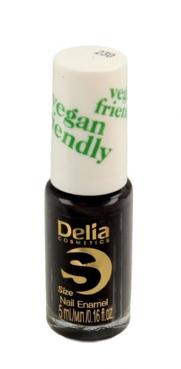 Delia Cosmetics Vegan Friendly Emalia do paznokci Size S nr 230 Adore Me 5ml