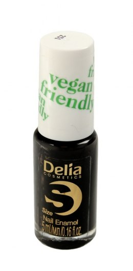 Delia Cosmetics Vegan Friendly Emalia do paznokci Size S nr 231 Black Orchid 5ml