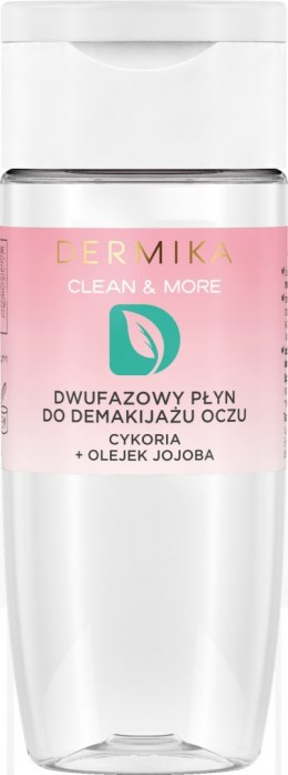 Dermika Clean & More Dwufazowy Płyn do demakijażu oczu 120ml