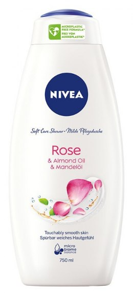 Nivea Soft Care Shower Żel pod prysznic Rose 750ml
