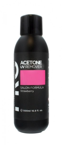 Constance Carroll Pro Zmywacz acetonowy Acetone UV Remover Strawberry 500ml