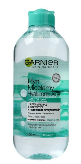 Garnier Skin Naturals Hyaluronic Aloe Płyn micelarny do demakijażu 400ml
