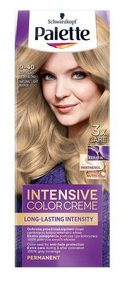 H*PALETTE INTENS CREME 9-40 naturalny blond