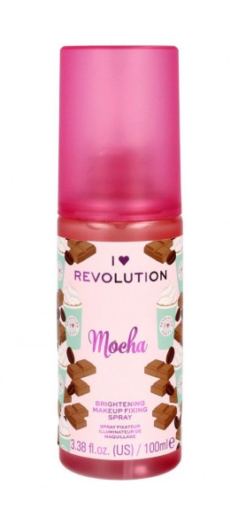 I Heart Revolution Brightening Makeup Fixing Spray utrwalający makijaż Mocha 100ml